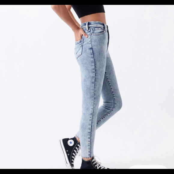 Wild Fable Acid Wash Jeans